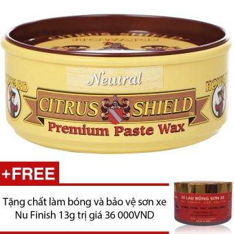 Sáp đánh bóng và bảo vệ gỗ Howard Citrus Shield CS0014 312g + Tặngchất làm bóng và bảo vệ sơn xe Nu Finish 13g
