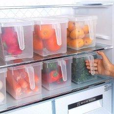 Sét 3 hộp bảo quản thức ăn tủ lạnh có tay cầm