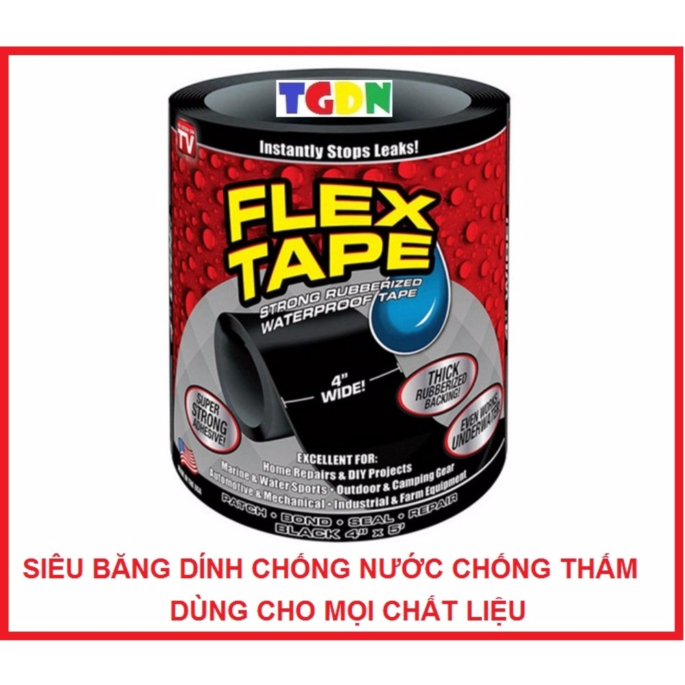 Siêu băng dính Flex Tape chống nước chống thấm cao cấp