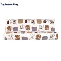 Đơn giản Căng Chắc Chắn Bọc Ghế Sofa Tất Cả-đã bao gồm Funiture Ghế Dài Nắp Trượt (Màu Be)-S-quốc tế