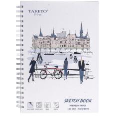 SỔ VẼ TAKEYO B5 8523 (50 TỜ)