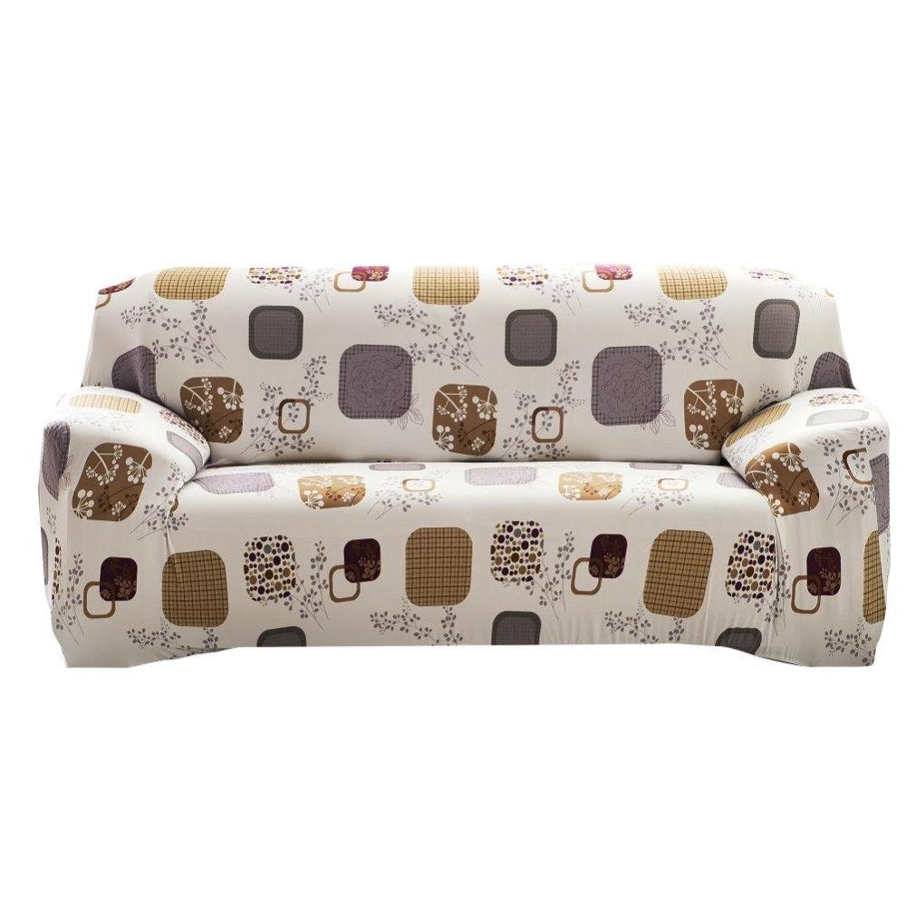 Sofa Cover Cloth Art Spandex Stretch Printed Slipcover – intl