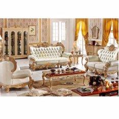 Sofa da thật phòng khách Romantic SCS9808