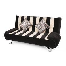Sofa giường Juno Sofa 180 x 110 cm (Đen) + 2 gối trang trí trị giá 300.000Đ
