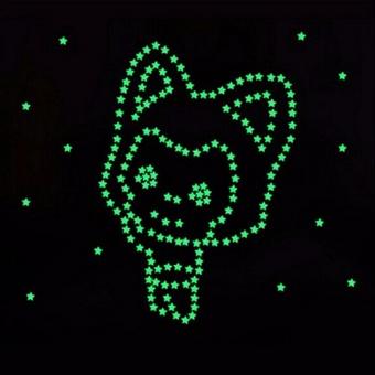 Sticker dán tường phát sáng trong đêm HPM36Star - 5