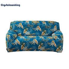 Stretch Thin Sofa Cover Sofa Towel Cushion Polyester Fabric Home Decoration (B) – intl