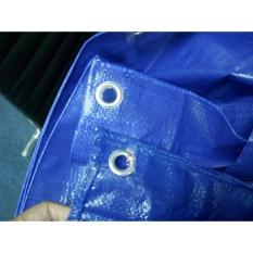 Tấm bạt che đa dụng không thấm nước 3m x 4m màu xanh
