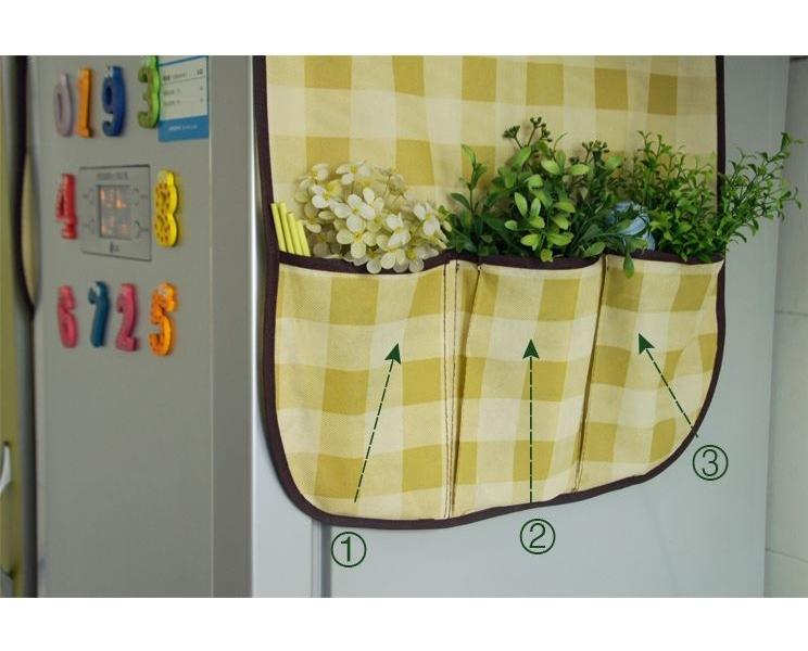 Tấm Che Phủ Trang Trí Tủ Lạnh Usa Store (sữa)