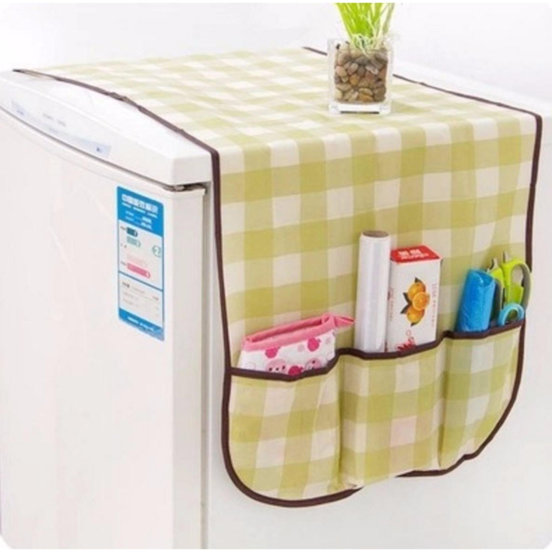Tấm che tủ lạnh chứa đồ đa năng