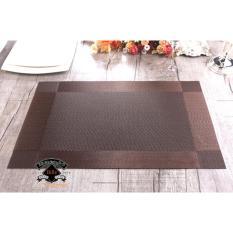 Tấm lót trang trí bàn ăn Bright Color No1 (All Brown)