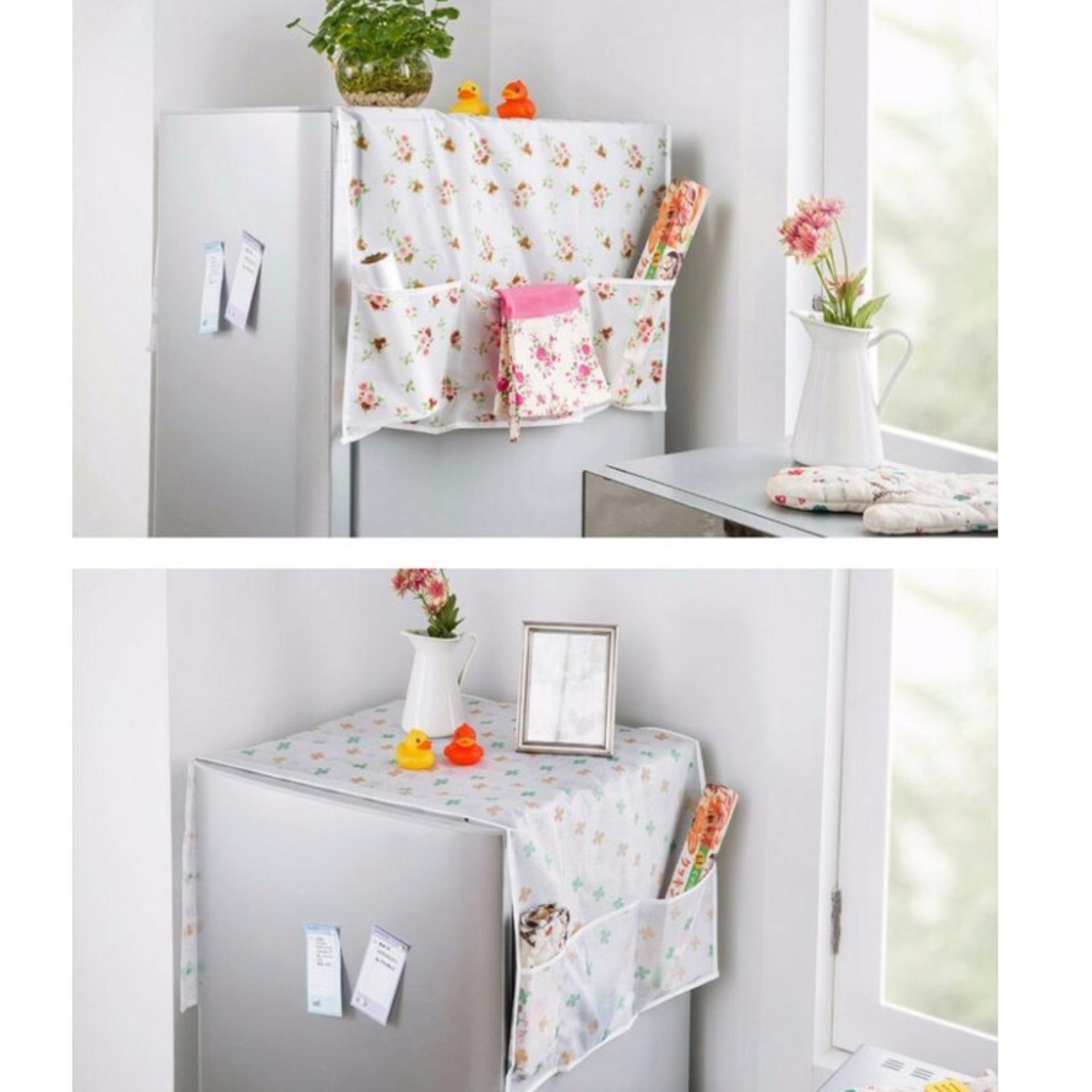 Tấm phủ tủ lạnh chống thấm cho nhà thêm xinh