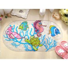 Thảm chống trơn trượt nhà tắm nhiều họa tiết
