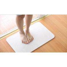 Thảm cứng siêu thấm công nghệ Nhật Bản 60x39x0.9cm hút ẩm cực nhanh