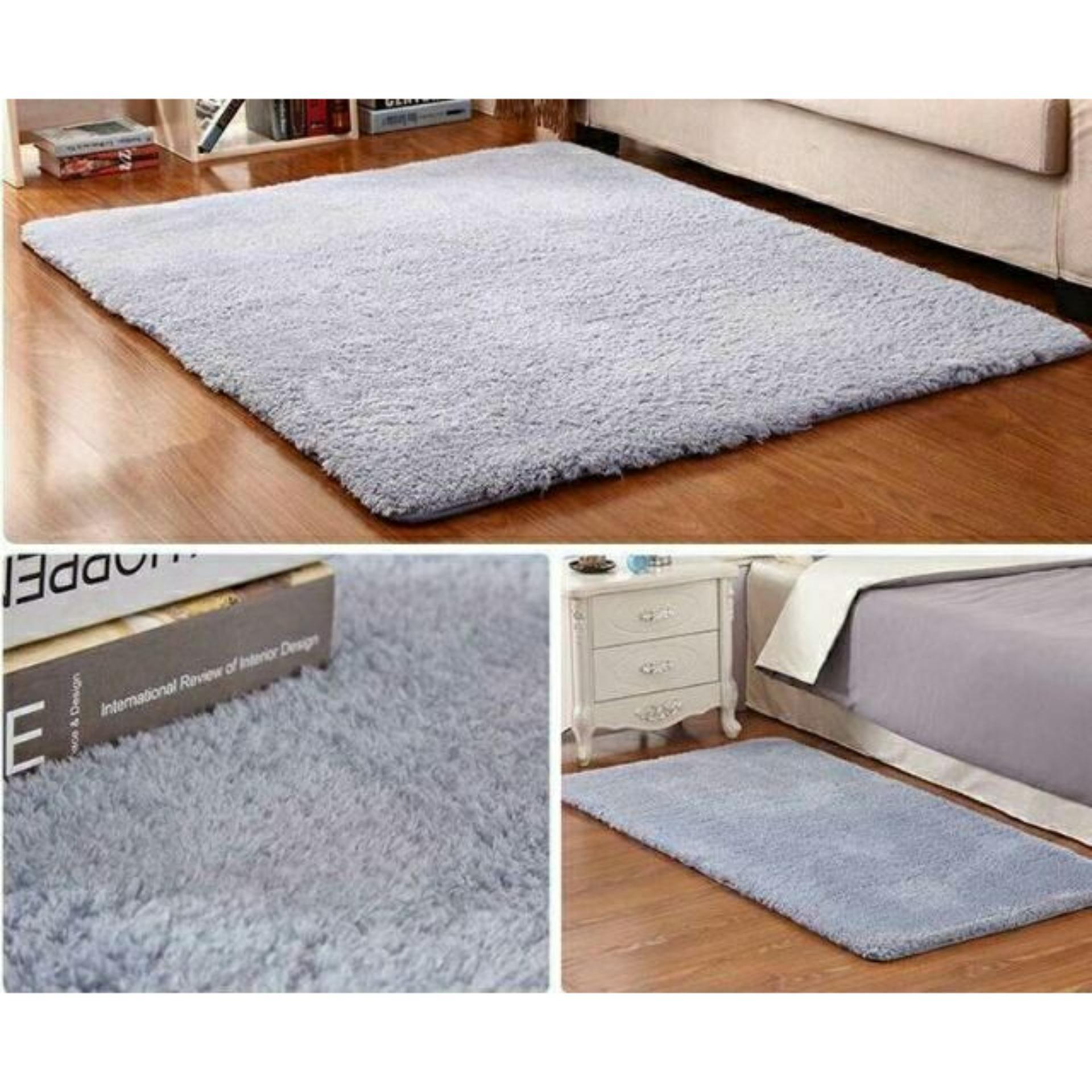 Giá Sốc Thảm lông trải sàn phòng khách cao cấp 1m6x2m
