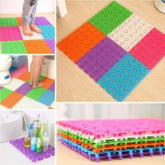 Thảm nhựa lắp ghép chống trơn, trượt nhà tắm (Nhiều màu)