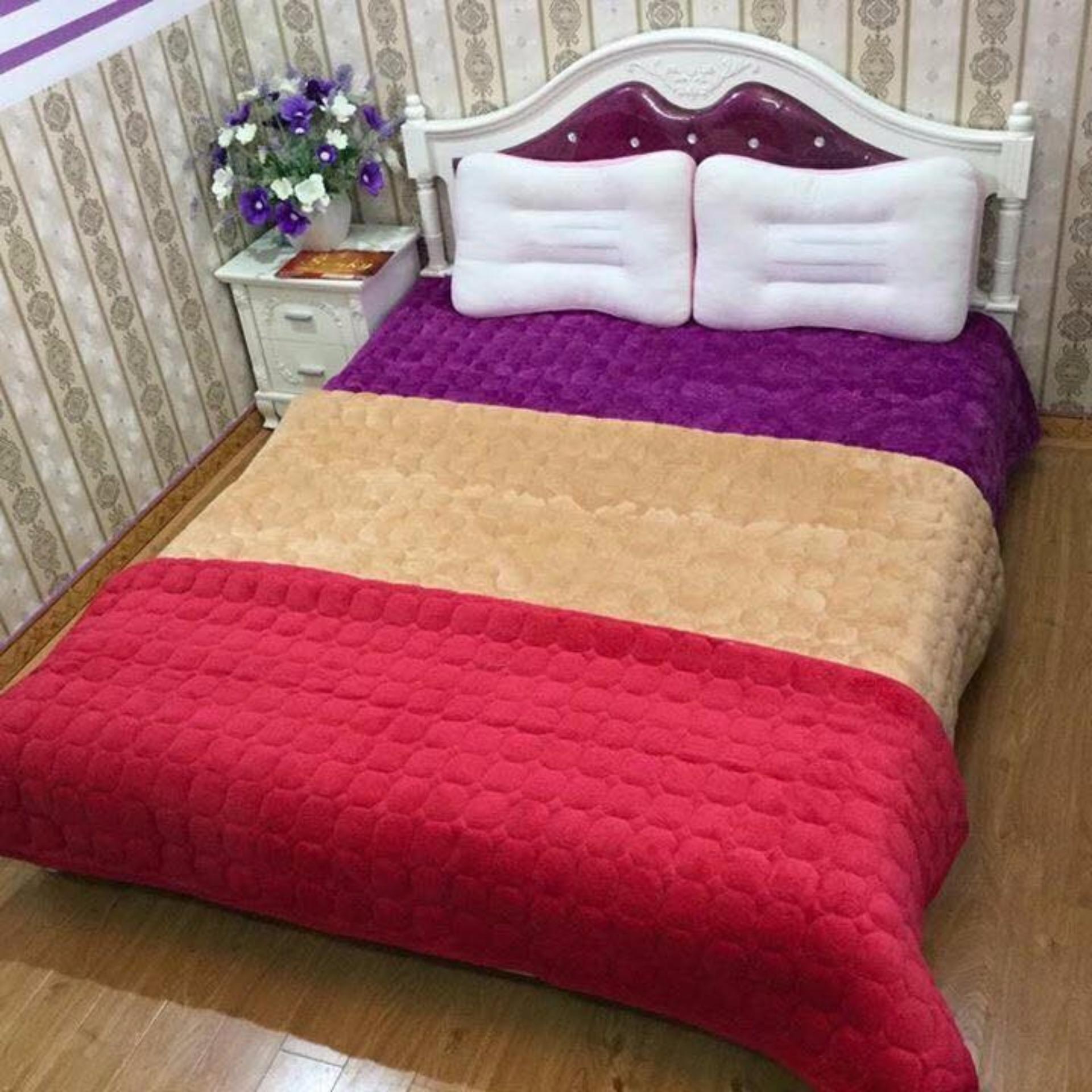 Giảm giá Thảm nhung trải giường,sàn nhà 1m8x2m (việt nam)