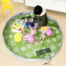 Thảm rút đựng đồ chơi cho bé – hoa văn Chodeal24h