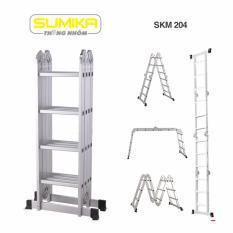 Thang nhôm gấp đa năng Sumika SKM 204