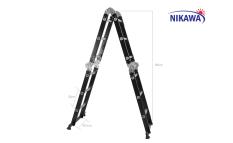Thang nhôm gấp khúc Nikawa NKG-43