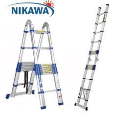Thang nhôm rút đôi 5,6m NIKAWA