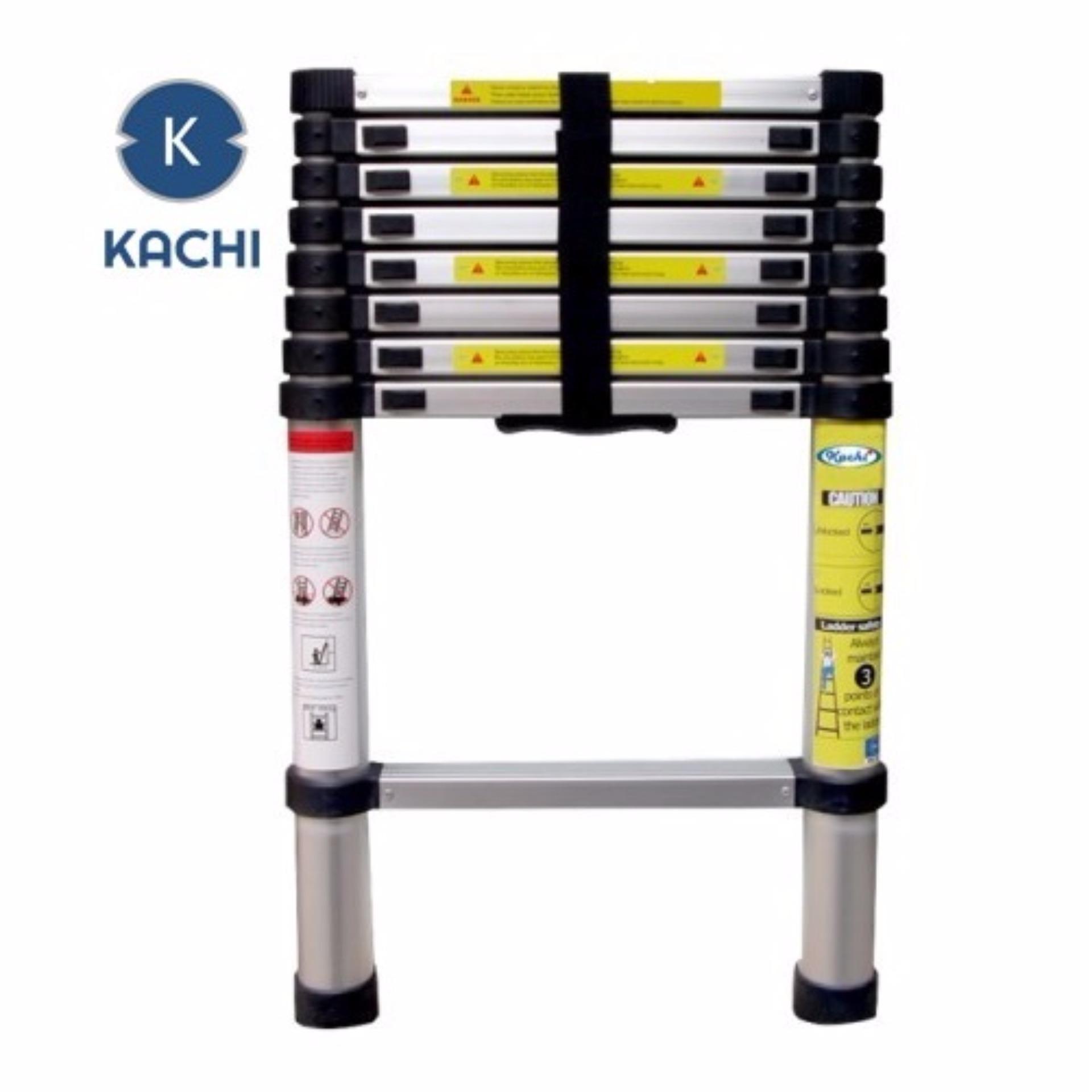 Thang nhôm rút gọn 3.8m Kachi  (Kachi Việt Nam phân phối)