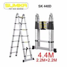 Thang rút nhôm đôi Sumika SK 440D