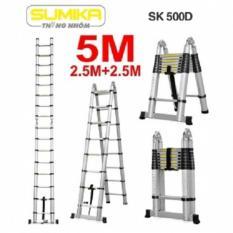 Thang rút nhôm đôi Sumika SK 500D