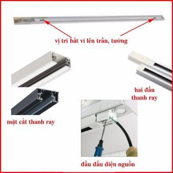 Thanh ray đèn rọi màu trắng dài 1m - MD70 - 8266036 , MI532HLAA3JQFCVNAMZ-6273531 , 224_MI532HLAA3JQFCVNAMZ-6273531 , 61600 , Thanh-ray-den-roi-mau-trang-dai-1m-MD70-224_MI532HLAA3JQFCVNAMZ-6273531 , lazada.vn , Thanh ray đèn rọi màu trắng dài 1m - MD70