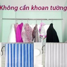 Thanh Treo Rèm Nhà Tắm (90-160cm)