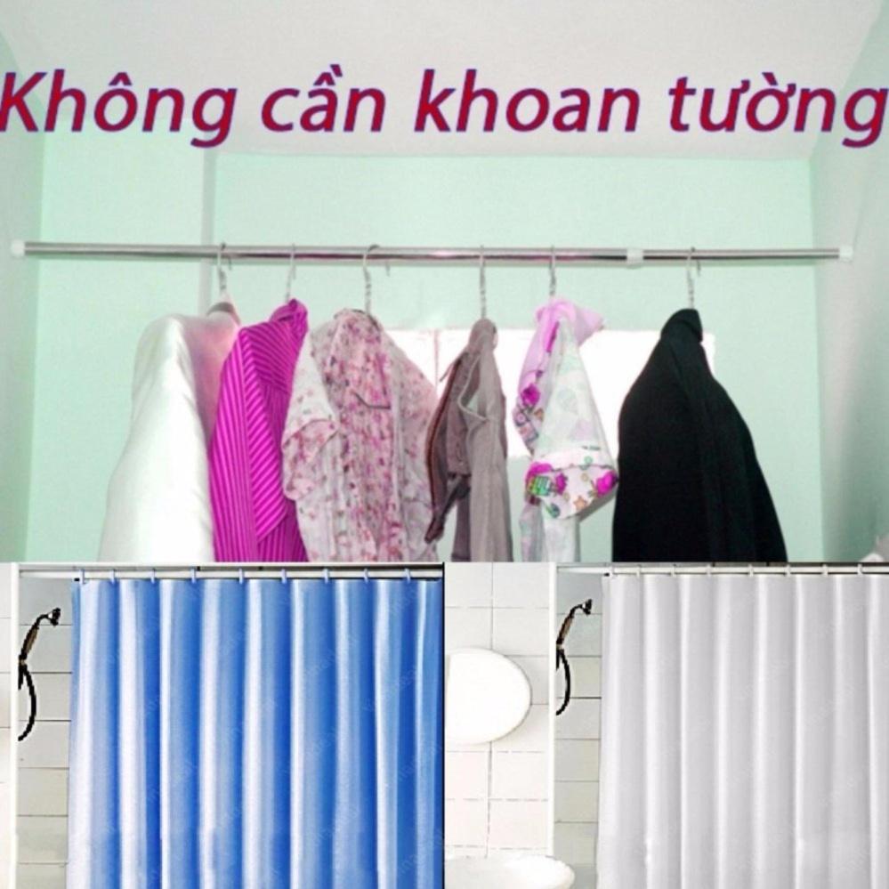 Nơi mua Thanh Treo Rèm Nhà Tắm (90-160cm)