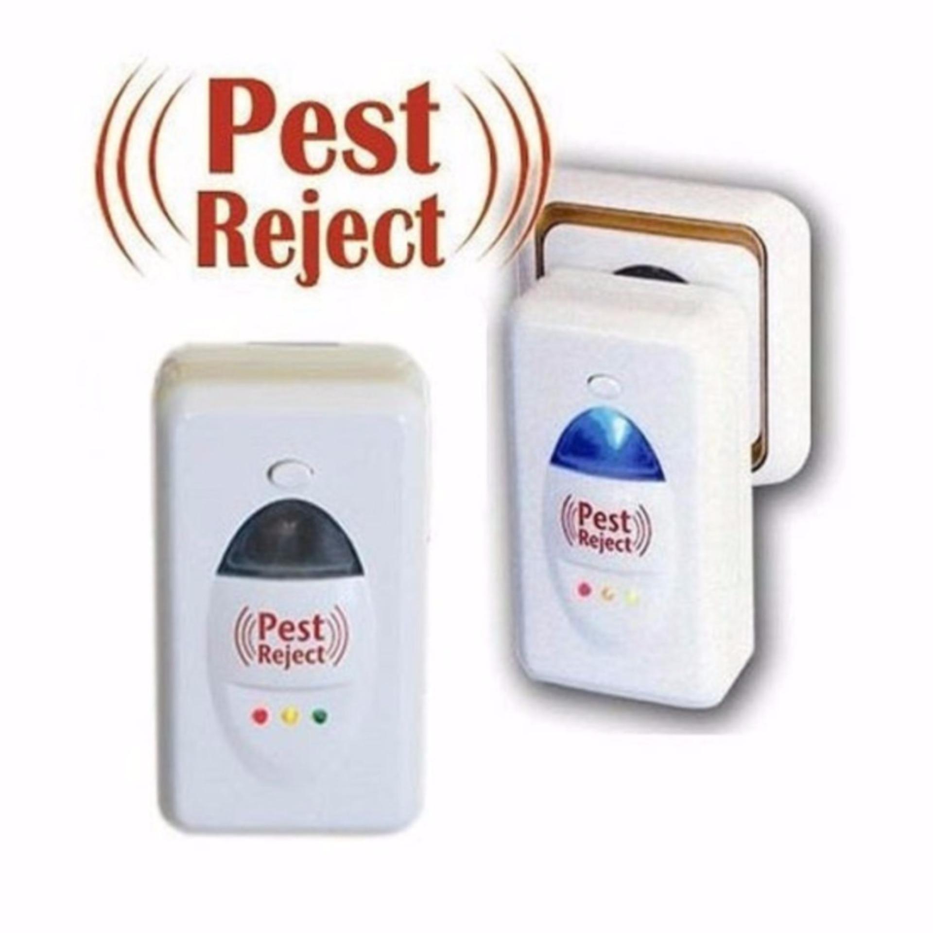 Thiết bị đuổi chuột gián muỗi và côn trùng Pest reject LP-06 (Trắng)