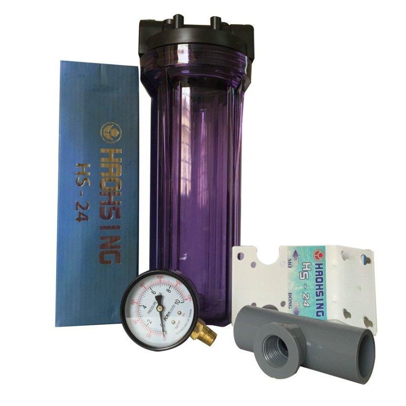 Thiết bị lọc nước sinh hoạt Haohsing HS24 (xanh)
