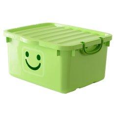Thùng nhựa đựng quần áo Happy Box YW-16 (Xanh lá cây nhạt)