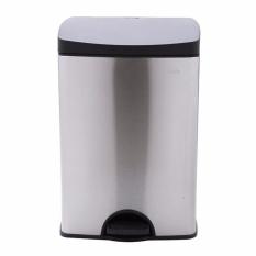 }Thùng rác Fitis Premium đạp vuông nhỏ inox SPS1-901.L