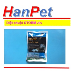 Miễn phí HCM129k-Thuốc Diệt Chuột Storm 20v CHỐNG ĐÔNG MÁU (THUỐC CHUỘT 413)-HP10059LV