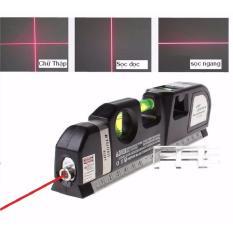[ĐỒNG GIÁ 99K – 2 NGÀY CUỐI] – Thước Đo Bằng Laser 2 tia dọc – ngang PRO3 (Đen)