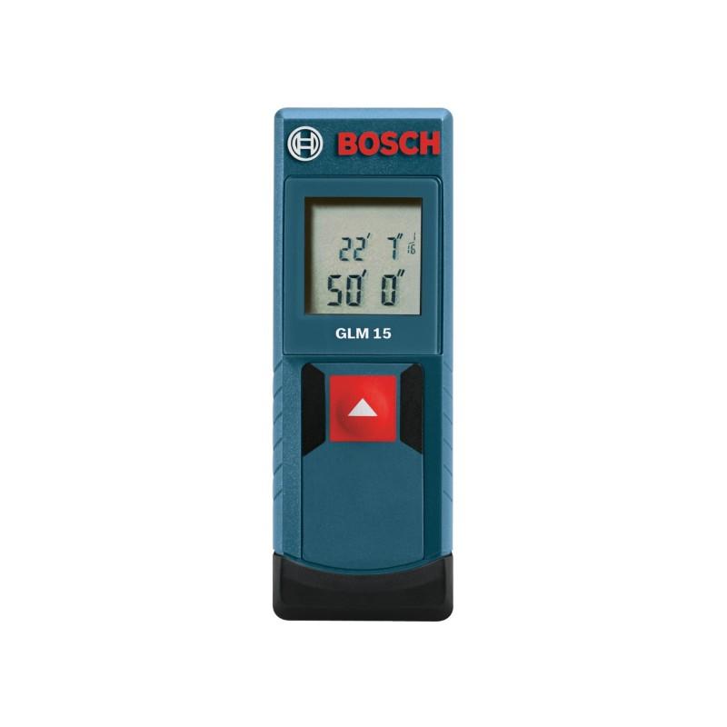 Thước đo khoảng cách bằng tia laze Bosch GLM 15 Compact Laser Measure