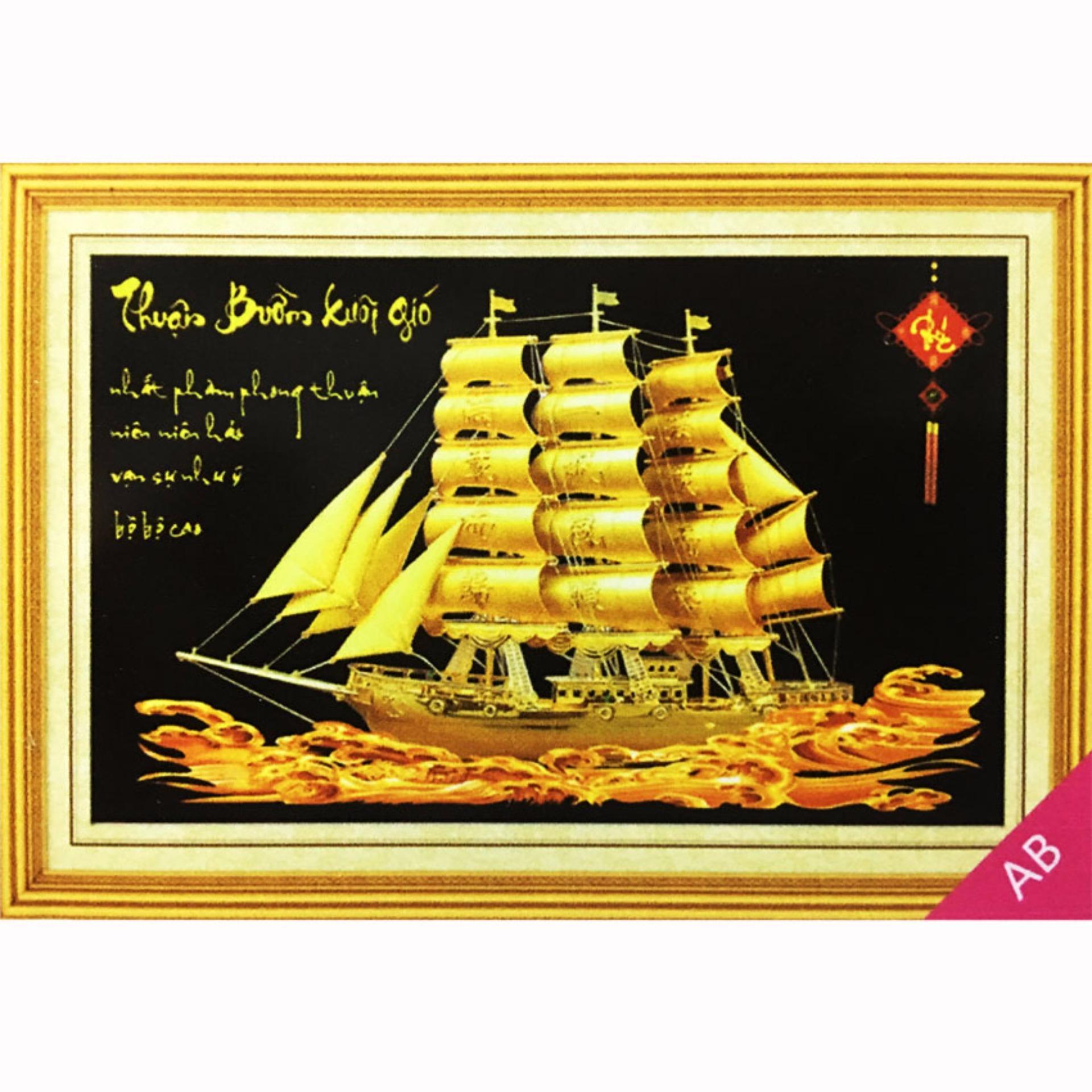 Tranh đính đá 5D – Thuận Buồm Xuôi Gió 04 -Tranh Minh Hiền
