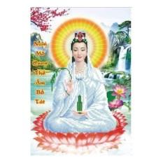 Tranh chấm hột Phật bà YN2094-Kíchthước: 36x50Cm