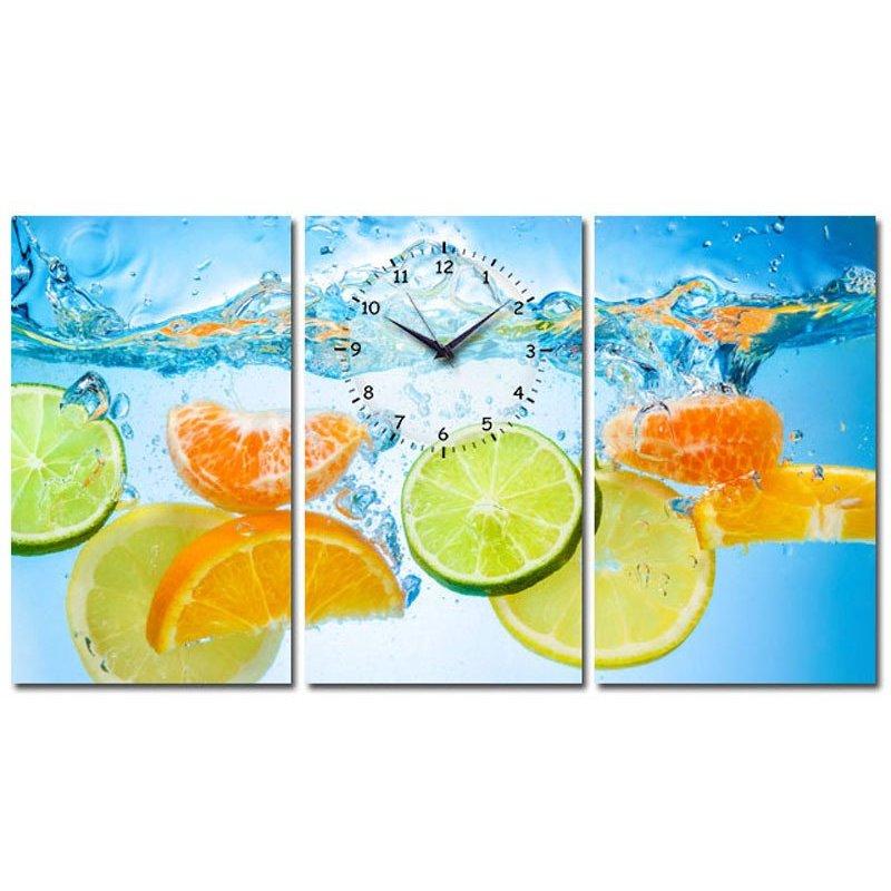 Nơi bán Tranh đồng hồ Suemall TA140701 (Hoa quả)