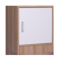 Tủ 1 hộc 1 cửa Modulo Home Leo 1-1 2578 Vân sồi 6052 (Trắng)