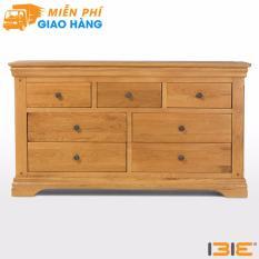 Tủ ngăn kéo 3+4 Victoria gỗ sồi