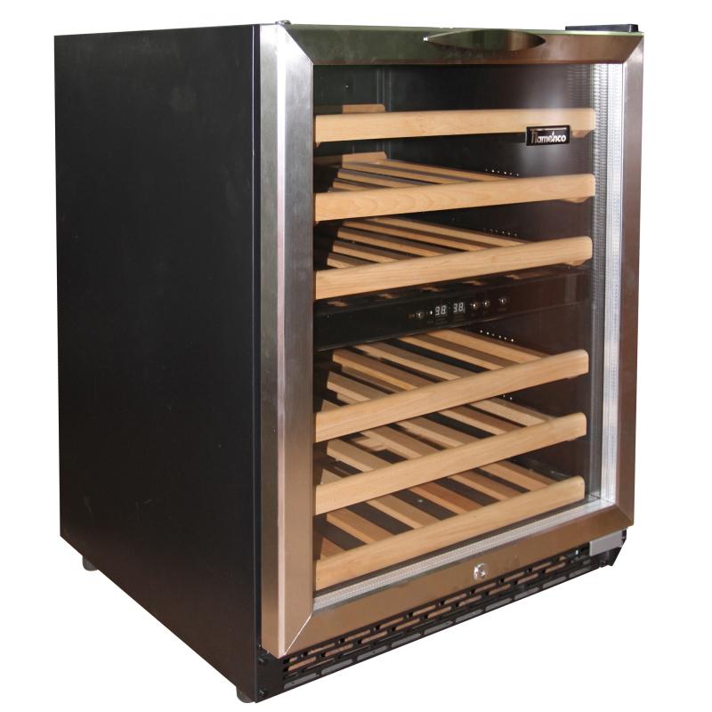 Tủ bảo quản rượu vang Flamenco JC 150E (Đen)