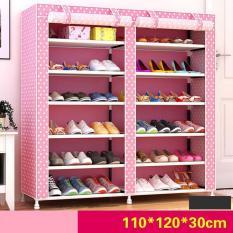 Tủ đựng giày hoa văn 6 tầng 12 ngăn – Kmart