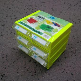 Tủ Đựng Linh Kiện TVP 6 Hộp ( Mỗi hộp 4 ngăn chia có thể tháo rời )