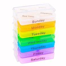 Tủ đựng thuốc 7 ngày cho gia đình siêu tiện lợi