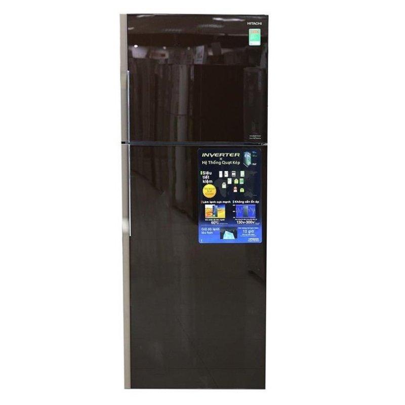 Tủ lạnh 2 cửa Hitachi R-VG470PGV3(GBW) 395L (Nâu)