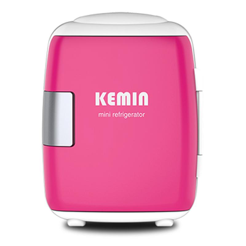 Tủ lạnh mini nguồn 220V và 12V  Kemin (Hồng)