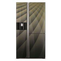 Tủ lạnh Side by side Hitachi R-M700AGPGV4X (DIA) 597L (Nâu)
