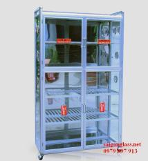 Tủ nhôm đựng chén bát TC01